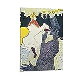 LANJIE Abstraktes Poster von Toulouse Lautrec, Ukiyoe,