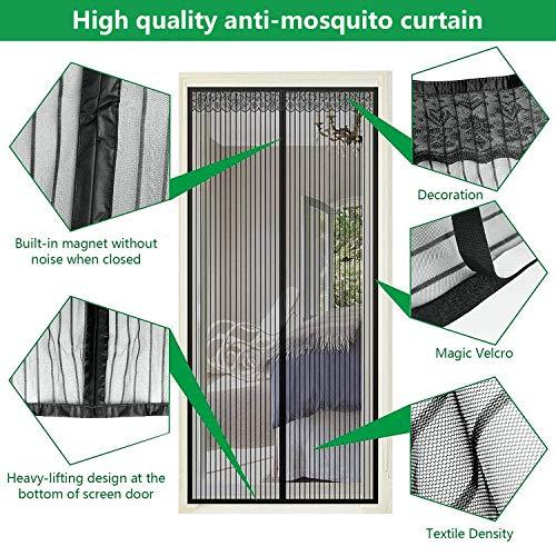 TATAFUN Contrapuertas con mosquitera