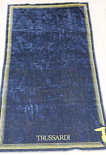 Trussardi Home Linen Telo Mare in Pura Spugna Velour Art. Frame cm. 95x180 (Lime 003)