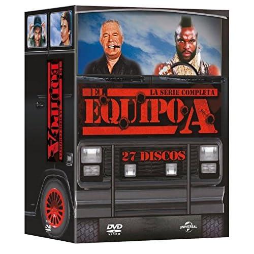 Pack: El Equipo A - Serie Completa [DVD]: Amazon.es: George ...