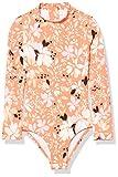 Billabong Girls' Petal Party Bodysuit One Piece Swimsuit, Coral Reef, 5