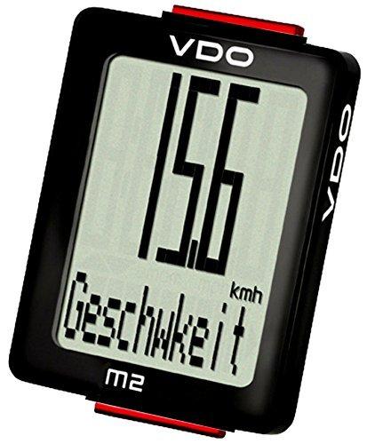 VDO M2 WL 300231 Blackline Edition Biketacho/draadloze fietscomputer A1 (blackline)