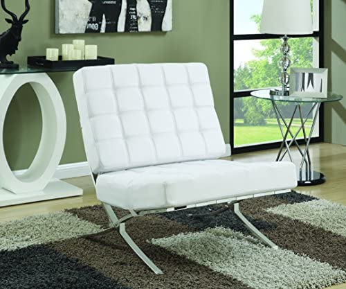 Best Armless Waffle Accent Chair White