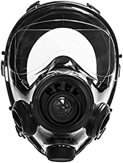 Mestel Safety - Full-face Gas Mask, Anti-Gas Respirator Mask - Resistant to Chemical Agents and Aggressive Toxic Substances - Suitable for Pesticide and Chemical Protection - SGE 400/3 S/M
