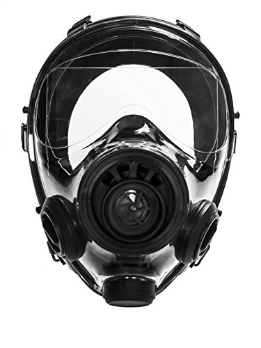 Doomsday Full-face Mask, Anti-Gas Respirator Mask - Resistant to Chemical Agents and Bio-hazards