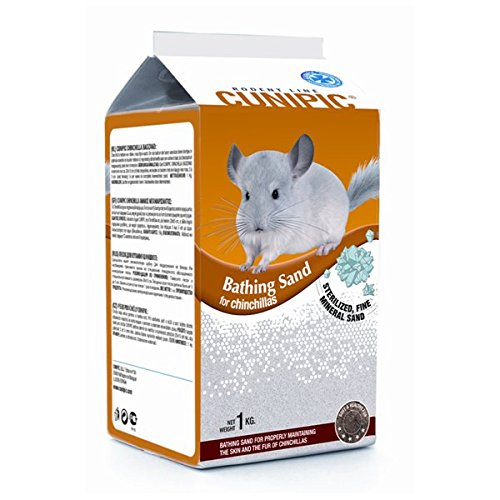 Cunipic Chinchilla Arena 1KG, Negro, Mediano