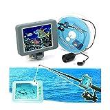 Dpliu Multicolor Visual Dispositivo de Pesca Buscador de los Pescados de Alta definición de la cámara bajo el Agua