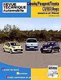 E.T.A.I - Revue Technique Automobile B701.5 - CITROEN /- PEUGEOT/- TOYOTA C1 PHASE 1/107/AYGO 1 PHASE 1 - 2005 à 2008