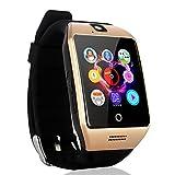 AGPTEK Q18s Smartwatch Bluetooth 3.0 1.54' Touchscreen GSM GPRS SIM-Kartenschlitz 1.3MP Kamera für Android Samsung S6/S7/Note2 /3/4/5,Nexus,HTC,Sony,Huawei
