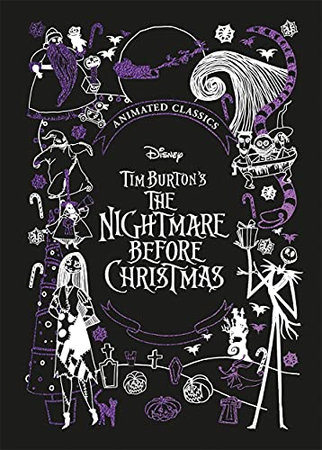 Disney Tim Burton's The Nightmare Before Christmas (Disney Animated Classics): A deluxe gift book of the classic film - collect them all!
