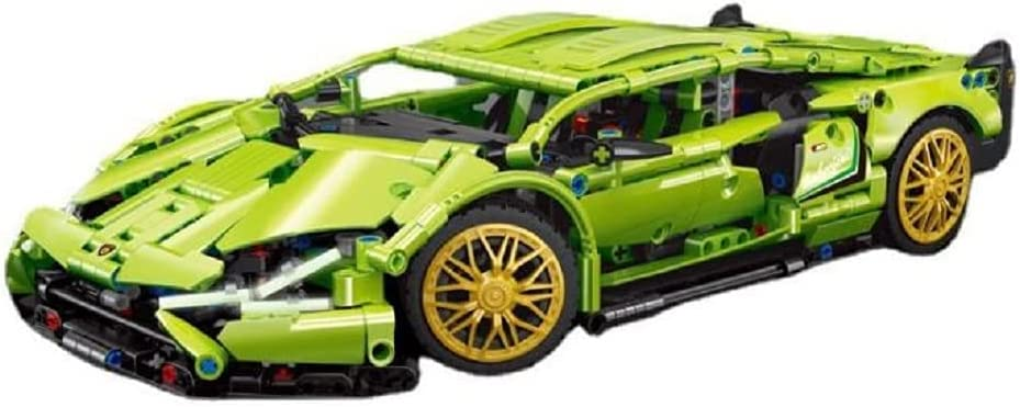 Compatible Overseas parallel import regular item with Lego Sports Seattle Mall car Series Lamborgh mud Model Bo