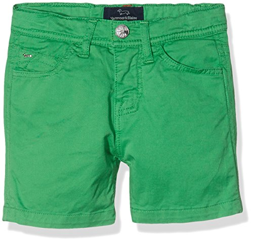 Harmont & Blaine Junior Bermuda 5 Tasche Pantaloncini, Verde Prato, 10y Bambino