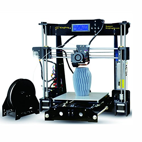 Kit Kingfrog P802M ad alta precisione Prusa i3 3D Stampanti per auto-montaggio DIY con scheda SD per la guida all'installazione di video e immagini