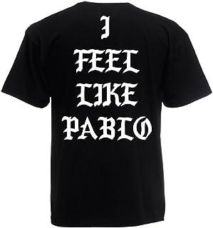 Camiseta T-Shirt Modelo I Feel Like Pablo, para Hombre, en Muchos Colores Diferentes