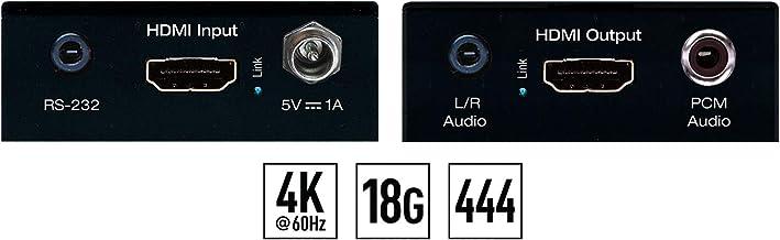 Key Digital KD-FIX418A 4K 18G HDMI Fixer with L/R PCM Audio & De-Embedded Audio Output
