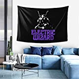 JUHGN Electric Wizard Tapestry Poster Wall Hanging, Boutique Art Wall Hanging Tapestry Tapestry for Living Room Bedroom Home Decor ( 40*60in 102x152cm)