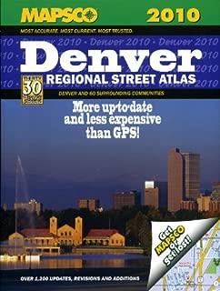 Mapsco 2010 Denver Regional Street Guide