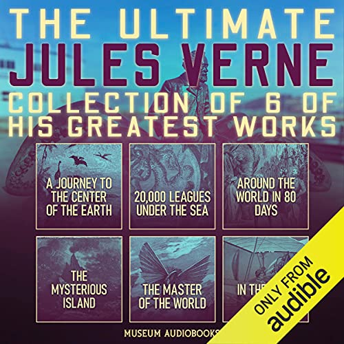 The Ultimate Jules Verne Collection of 6 of His Greatest Works cover art