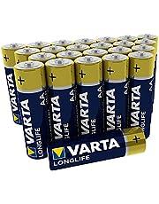 VARTA Longlife Power AA Mignon LR06 batterij, alkaline batterij Longlife AA 24 stuks 24er blister
