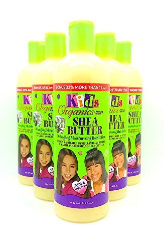 Africa's Best enfants Bio Démêlant hydratant Cheveux Lotion Bonus 33% 453,6 gram Lot de 6