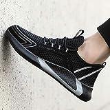ZYFXZ Hombre Transpirable Malla Desodorante Trabajo Zapatos de Punta de Acero Toe s1 Entrenadores Mujeres Botas Ligeras de construcción Industrial Zapatos de Seguridad (Color : A, Size : 39)