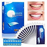 Blanchiment des Dents - Vegena 3D Teeth Whitening Strips, 14 Paires/28 Bandes | Gel Dent Blanche White Care