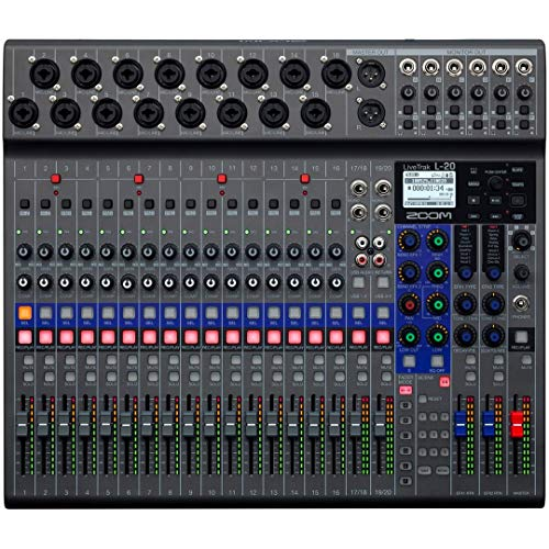 Zoom - L-20/IFS - mixer digitale 20 canali, recorder e interfaccia audio