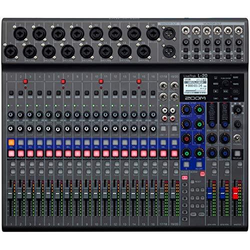Zoom - L-20 - Mixer digitale 20 canali, recorder e interfaccia audio
