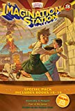 Imagination Station Books 3-Pack: Doomsday in Pompeii / In Fear of the Spear / Trouble on the Orphan Train (AIO Imagination Station Books)