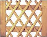 Tür für Jägerzaun Scherenzaun B100 x H80 cm