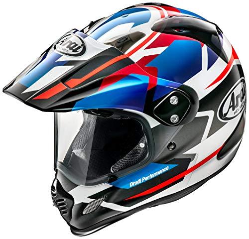 アライ (ARAI) バイクヘルメット オフロード ツアークロス3 デパーチャー (DEPARTURE) 青 61-62cm TX3-DEPARTURE-BL_61