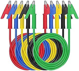 Pack de 2 Uds LATIGUILLO CONECTOR 2 PIN A a 2 PINZAS COCODRILO