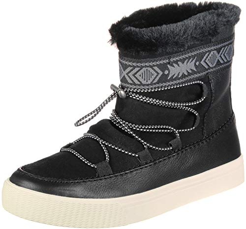 TOMS Womens Alpine Lace Up Boots Ankle - Black - Size 8.5 B