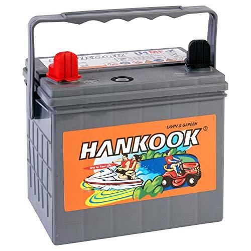 Hankook MF896 Batterie de Démarrage Pour Tondeuse Bateau Tracteur 30Ah 12V - U1MF-X - 205x132x185mm