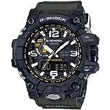 [カシオ] 腕時計 ジーショック MUDMASTER 電波ソーラー GWG-1000-1A3JF グリーン