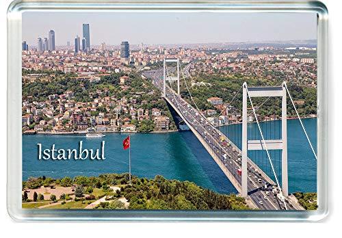 GFC I137 Istanbul Jumbo Kühlschrankmagnet Turkey Travel Fridge Magnet