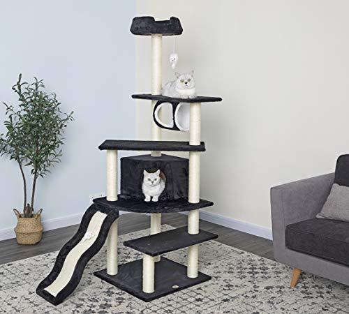 Go Pet Club Cat Tree Black Color