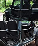 Tubular Doors with Mirror for 07-18 Jeep Wrangler JK 4 Door