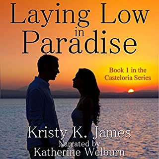 Laying Low in Paradise audiobook cover art