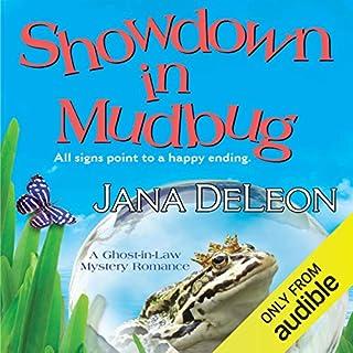 Showdown in Mudbug audiobook cover art