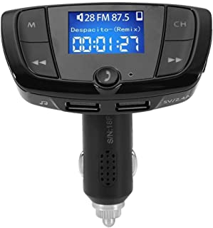 $22 » Tarente 5V/3.1A Dual USB Fast Charging Car Charger BT Hands-Free FM Transmitter MP3 Player Car Kit