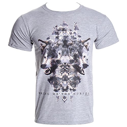 Bring Me The Horizon - T-Shirt Wolven Grey Marl (in S)
