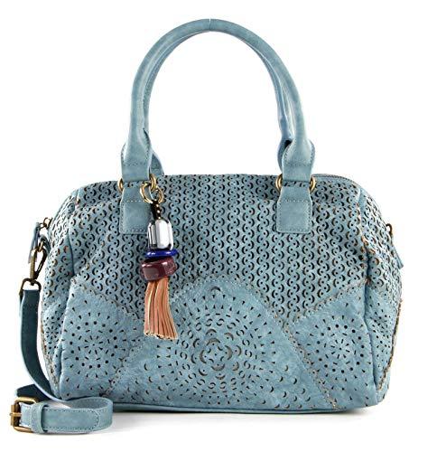 SOCCX Lilly Bowling Bag Blue
