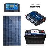 Kit De Panel Solar Para Focos En Sistema Aislado (sin Luz)