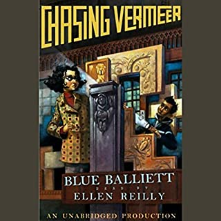Chasing Vermeer audiobook cover art