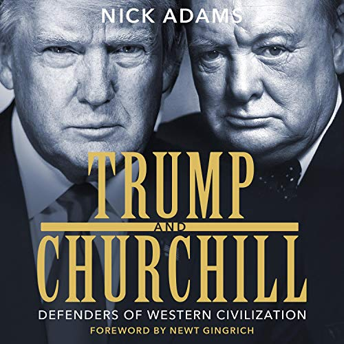 Trump and Churchill audiobook cover art