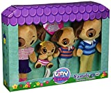 TINY TUKKINS Stuffed Dog Family - 4 Plush Dog Stuffed Animals - Doggy Stuffed Animal Pack Includes Mom, Dad, and 2 Babies - Stuffed Animal Set Made from Kid-Friendly, Non-Toxic Quality Materials