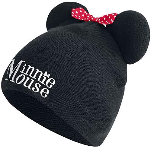 Minnie Mouse Beanies Disney Winter Beanie Black
