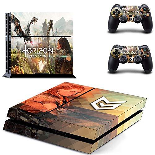 FENGLING Horizon Zero Dawn Ps4 Autocollants Playstation 4 Peau Ps4 Autocollant Couverture pour Playstation 4 Ps4 Console et contrôleur Skins