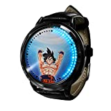 Anime Dragon Ball ZLED Reloj de Pantalla táctil Impermeable Luminoso Reloj Digital Unisex Cosplay Regalo Nuevo Reloj niños Regalo-E
